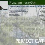 "Фотокаталог породы кошек ""Кошки Info"""